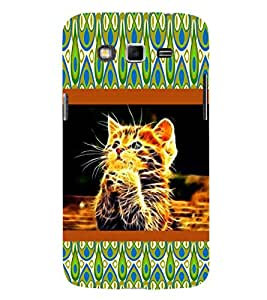 ifasho Designer Phone Back Case Cover Samsung Galaxy Grand I9082 :: Samsung Galaxy Grand Z I9082Z :: Samsung Galaxy Grand Duos I9080 I9082 ( Old Man Beard Look Classic Oil Paint Look )