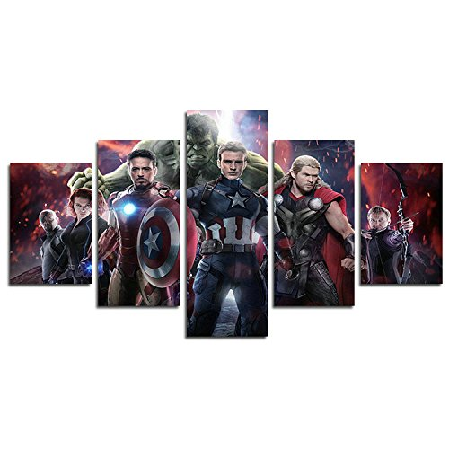 Leyruk 5 piezas Avengers 2 The Avengers Age Aotou