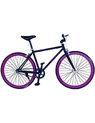 helliot Bikes Single Speed de ciclismo para adulto Tribeca H21, Negro, One size, 8419221173769