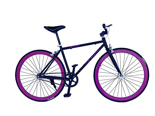HELLIOT BIKES SINGLE SPEED DE CICLISMO PARA ADULTO TRIBECA H21  NEGRO  ONE SIZE  8419221173769
