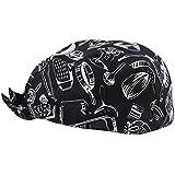 MagiDeal Tapas de Gorro Cabezas Headwrap Sombrero Pañuelo de Abastecimiento Del Cocinero - Impresión