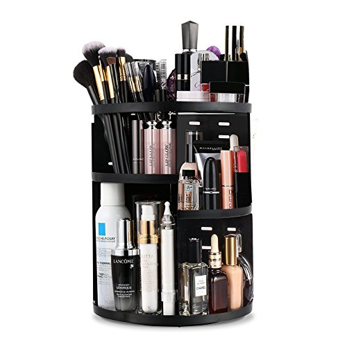 Bridgetown Kunststoff, Make-up, Kosmetik-Container-Aufbewahrungsboxen Make-up Pinsel...