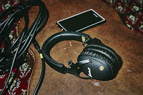Marshall Monitor Bluetooth Over-Ear Kopfhörer (F.T.F. Filter System, 30 h Spielzeit, Bluetooth 4.0, faltbares Design) schwarz - 4