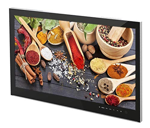 """DYON CULINA 23,8\"""" Full-HD LED Küchenfernseher mit Blum-Klappensystem zum Einbauen"""