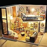 godbless Casa de Muñecas DIY con LED Luz cálida städ tisches vida DIY Doll House wünderschön gestaltetes Modelo creativo juguete regalo de cumpleaños Navidad