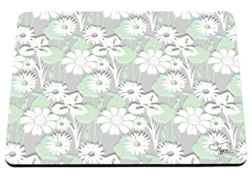 hippowarehouse-traditional-daisy-floral-pattern-printed-mouse-mat-pad-accessory-black-rubber-base-24