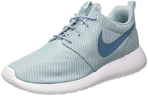 Nike Roshe One, Baskets basses homme Bleu (Mica Blue/Smokey Blue/Stadium Green)