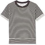 RED WAGON Jungen T-Shirt mit Streifen, Beige (Ivory), 116 (Herstellergröße: 6 Jahre)