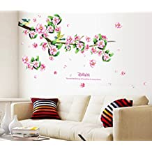 UberLyfe Lovely Flowers in Full Bloom Wall Sticker Size 3 (Wall Covering Area: 66cm x 105cm) - WS-000770