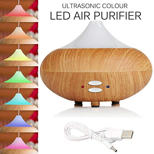 B-Creative LED Ultraschall-Befeuchter Air Purifier Essential Oil Aroma Diffuser Aromatherapie -