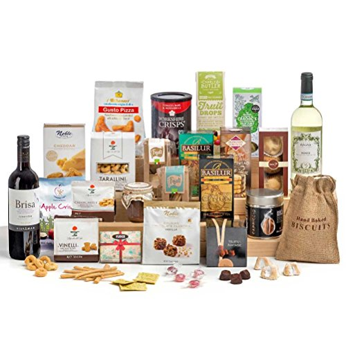 Hay Hampers Time for Wine Christmas Hamper Box- FREE UK Delivery