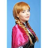 Anna congelata Deluxe adulta stile parrucca biondo rame
