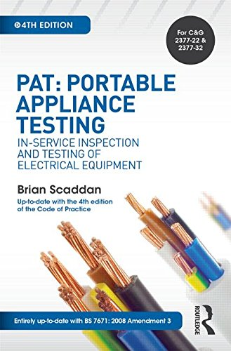 PAT: Portable Appliance Testing:...