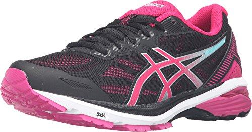 ASICS Women's GT-1000 5 Black/Sport Pink/Blue Sneaker 5 B (M)