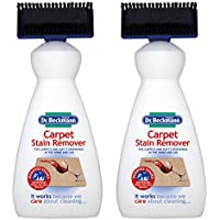 Dr Beckmann 2 X Carpet Stain Remover with Cleaning Applicator/Brush, 650ml