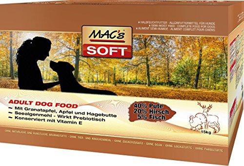 MAC's Soft Pute & Hirsch, 1er Pack (1 x 15 kg)