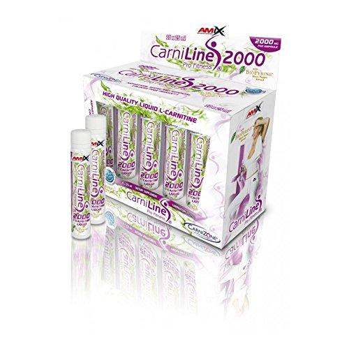 Amix CarniLine Pro Fitness 2000 10 ampollas x 25 ml - Sabor - Cereza