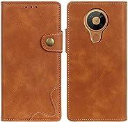 غطاء مونكيس لنوكيا 8.3 5G، غطاء من الجلد الصناعي الممتاز محفظة جيب حافظة فليب فتحات بطاقة إغلاق مغناطيسي للهات