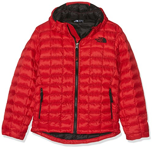 brand new dd761 e04a5 THE NORTH FACE Thermoball Hoodie Jacke, Kinder XS TNF Rot ...