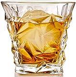 The Elan Collective Whiskey Gläser Set | 2 'The Stanley' Whiskey, Longdrink oder Cocktail Gläser mit 2 Eiskugelformen in eleganter Geschenkverpackung 300ml Kapazität, spülmaschinenfest