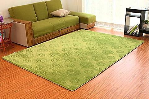 SANNIX 3D Rose Flower Pattern Shaggy Area Rugs and Carpet Super Soft Bedroom Square Carpet Rug for Kids