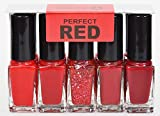 youstar Nagellack Set 5er - Perfect Red
