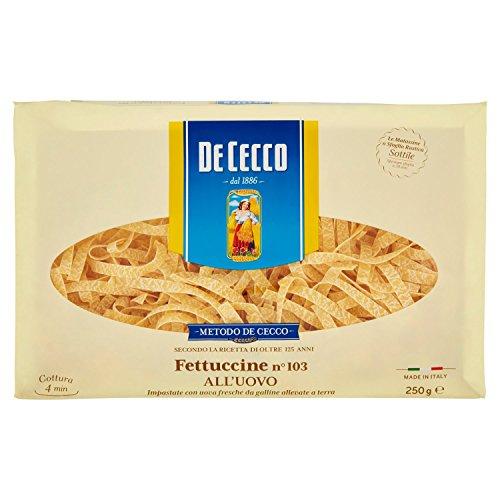 De Cecco Fettuccine Matassa all'Uovo - 250 gr