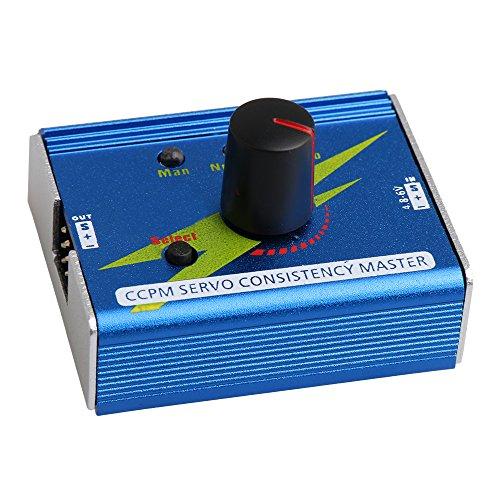 bqlzr 4,8x 4,2x 3cm blau GT Power CCPM 3-Kanal Digital Analog Multi verbunden ESC Servo Tester für RC Flugzeug Auto Boot