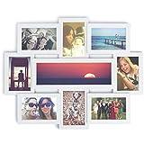 Marco de fotos múltiple 9 fotos   Varios Foto collage   Decoración hogar   Portafotos 9 fotos (blanco)