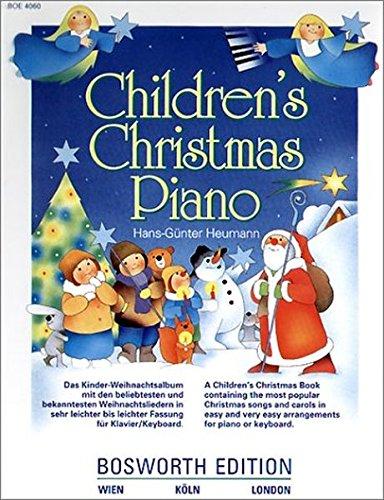 Children's Christmas Piano: Das Kinder-Weihnachtsalbum mit den beliebtesten und bekanntesten Weihnachtsliedern in sehr leichter bis leichter Fassung für Klavier/Keyboard Test