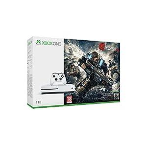 Xbox One S 1TB Konsole – Gears of War 4 Bundle