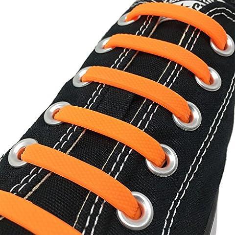 Forfait Orange - Joyshare No Tie Lacets pour les enfants