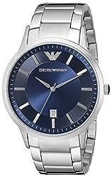Emporio Armani Analog Blue Dial Mens Watch - AR2477