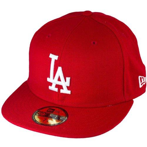 New Era Mlbbasic Los Angeles Dodgers - Schirmmütze für Herren, Farbe  Mehrfarbig, Größe 8