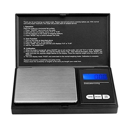 Fashion ER Tragbare Mini Pocket Digital Scale Silber Münze Gold Schmuck wiegen 0,01g-100g / 200g (Mini Münze)