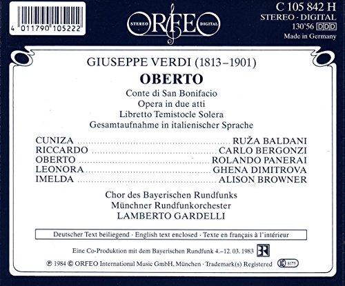 Verdi : Oberto [Import allemand]