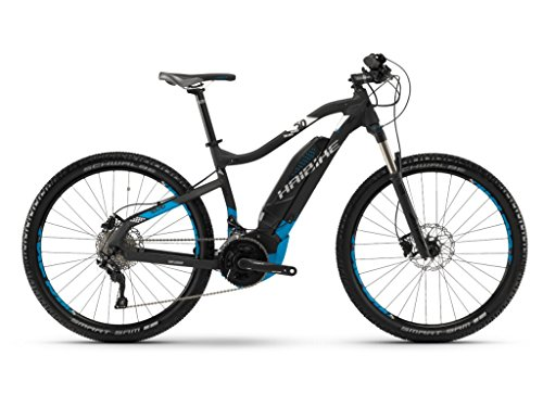 Haibike E-Bike SDURO HardSeven 5.0 500Wh 20-G Deore 18 HB YCC Schwarz/Blau/weiß Matt Medium