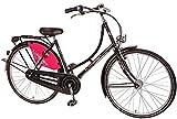 28' pollici bici olandese da questa bici unisce Cityrad di bicicletta da bambina Bachtenkirch a 3 marce, Colori: Nero-rosa;Telaio dimensioni: 50 cm