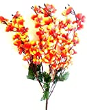 #5: VCK Artificial Peach Blossom Flower Bunch 9 Stems