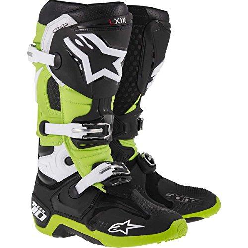Alpinestars , Chaussures de randonnée montantes pour femme noir-vert US 8 (EU 42) noir-vert