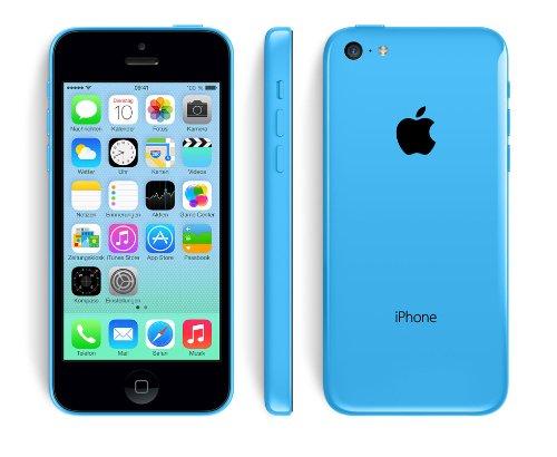 Apple iPhone 5C Smartphone (4 Zoll (10,2 cm) Touch-Display, 16 GB Speicher, iOS) Blau - 4