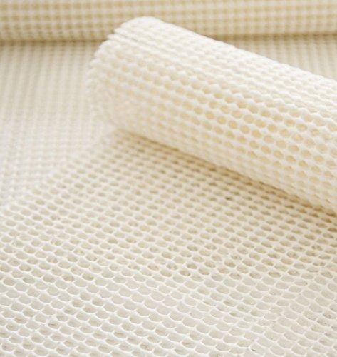 Extra-starke Antirutschmatte für Teppiche, starke Haftung, Mehrzweck-Fußmatte, 100 % hochwertiges PVC und Polyester, super Griffigkeit, von SourceDIY® - -