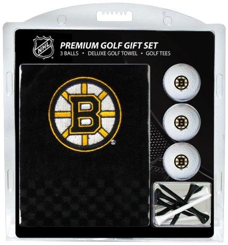 Team Golf NHL Boston Bruins besticktes Handtuch Geschenk-Set