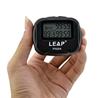 Cuzit LCD Digital Large Display Alarm Interval Timer TF6204 Trainning Crossfit Running Yoga Weight Lifting Running Stopwatch Sports Timer