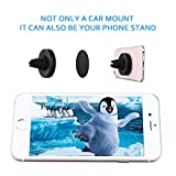 Car Mount, Mpow Grip Magnetic Car Phone Holder Air Vent  Phone Mount Universal Car Cradle for iPhone 7 6 6 Plus 5 Nexus 7 Huawei P9 LG Sony Samsung S6 S5 Note 5 4 and other Andriod Cellphones(Black) Bild 5