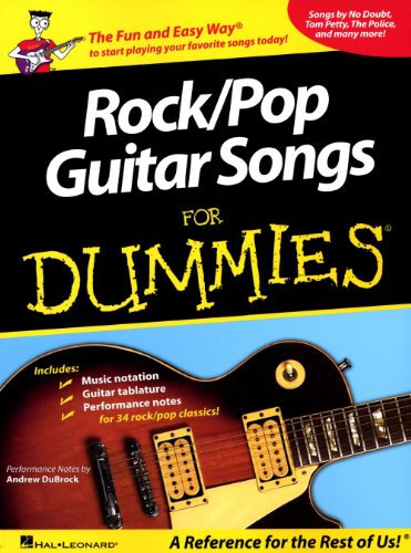 Guitarra de Rock/Pop canciones para Dummies 2014