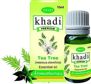 Khadi Premium Essential Oil Tea Tree (Malaleuca Alternifolia) 10 Ml