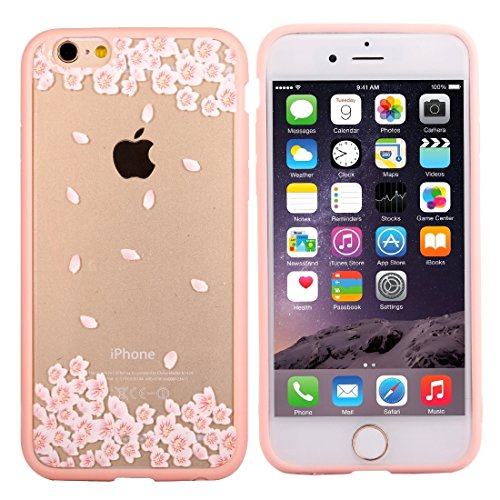 Phone case & Hülle Für iPhone 6 Plus & 6s Plus Cherry Blossom Blumenmuster Transparente Kunststoff Schutzhülle ( SKU : IP6P0968F ) IP6P0968D