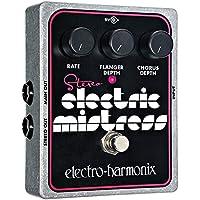 electro-harmonix Stereo Electric Mistress Stereo Electric Mistress Flanger Pedal - Pedal de efecto flanger para guitarra, color plateado