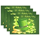 GOODSTHING napperon, Happy Patrick Day Festival Beer Holiday Placemats for Dining...